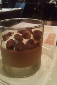 The Gianduja Budino