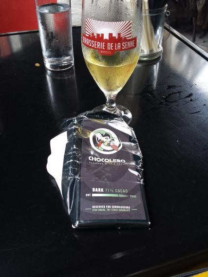 Goodie Bag Chocolate pairing with Beer