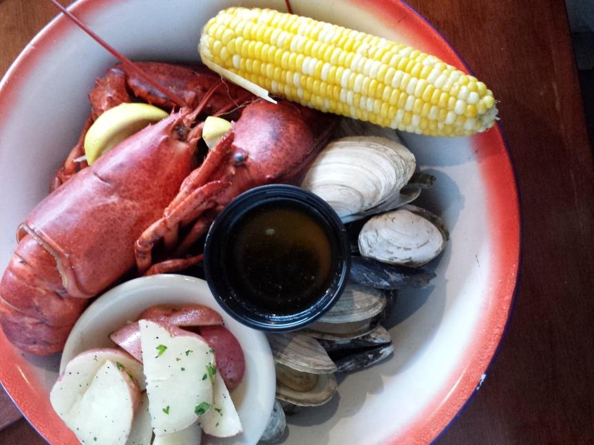 a la lobster