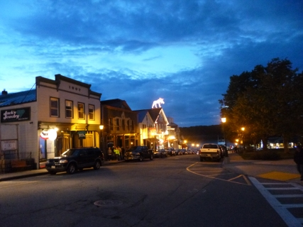 Sweetest little town at night