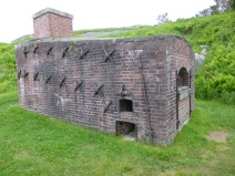 Where they kept armory, and also ovens (Fort Knox)